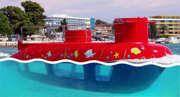 Semi submarine excursie Kroatie