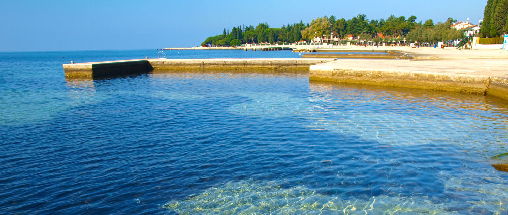 Spadici beach Porec