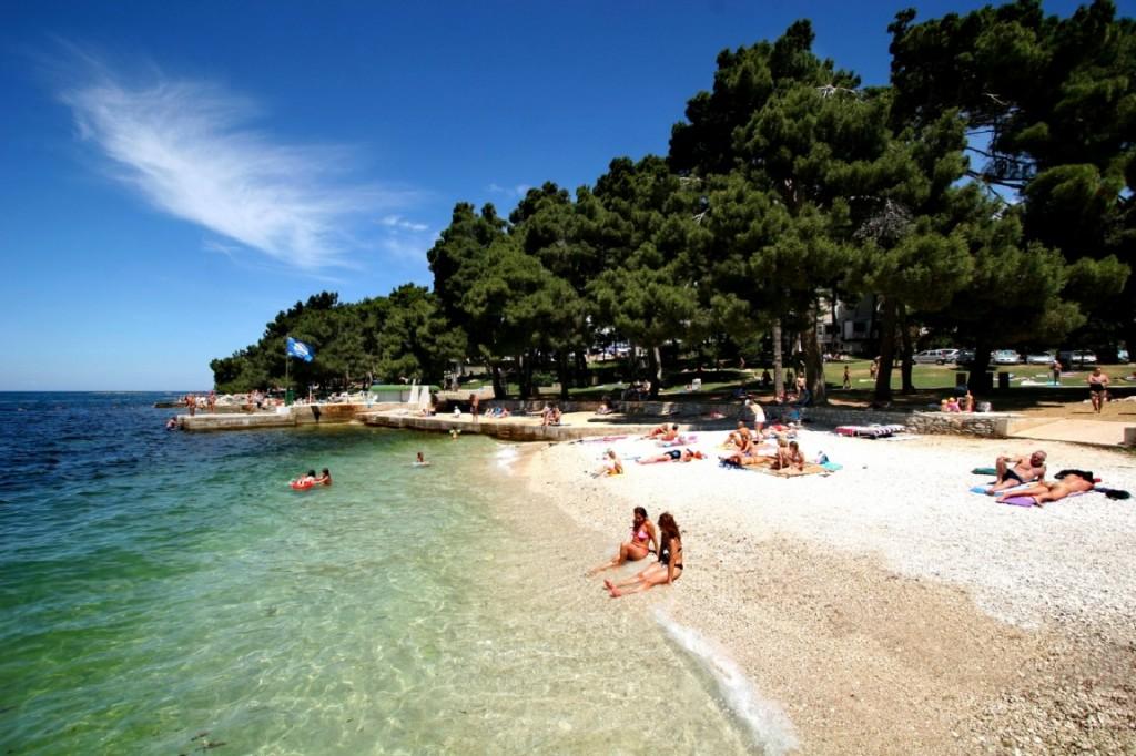 Beaches Zelena Laguna Porec