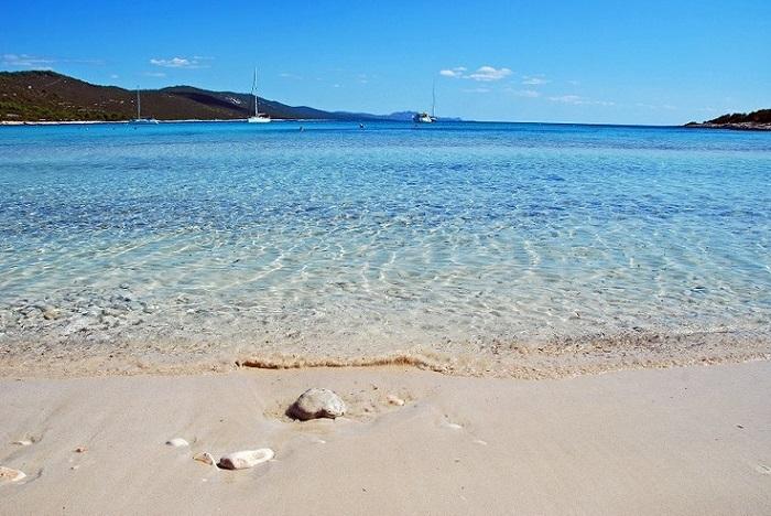 Saharun strand op het eiland Dugi Otok