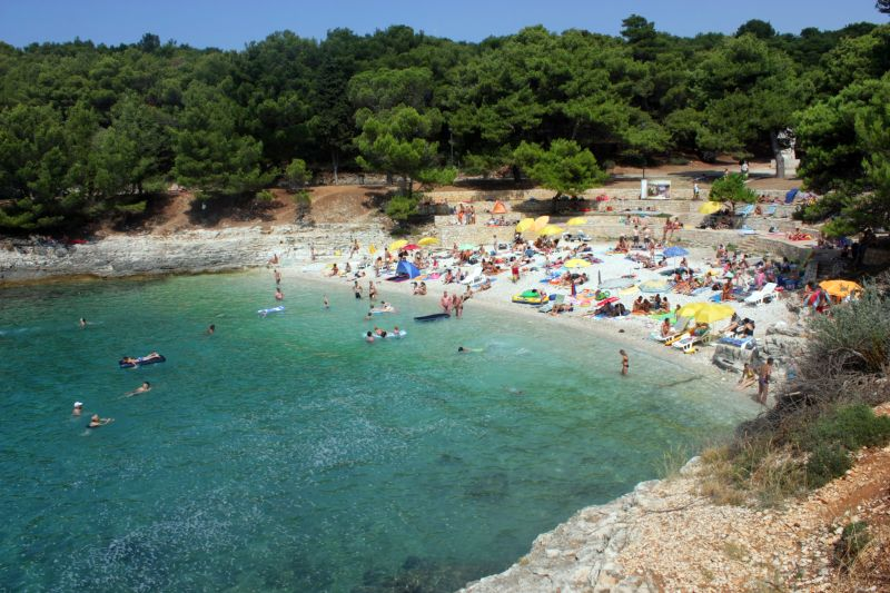 Stranden Verudela Pula