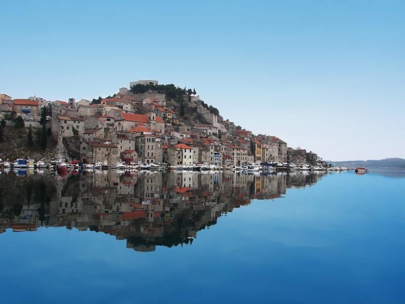 Sibenik Kroatie