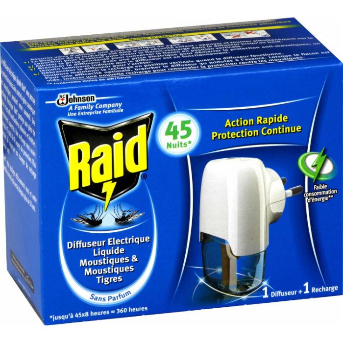 Raid anti muggen middel