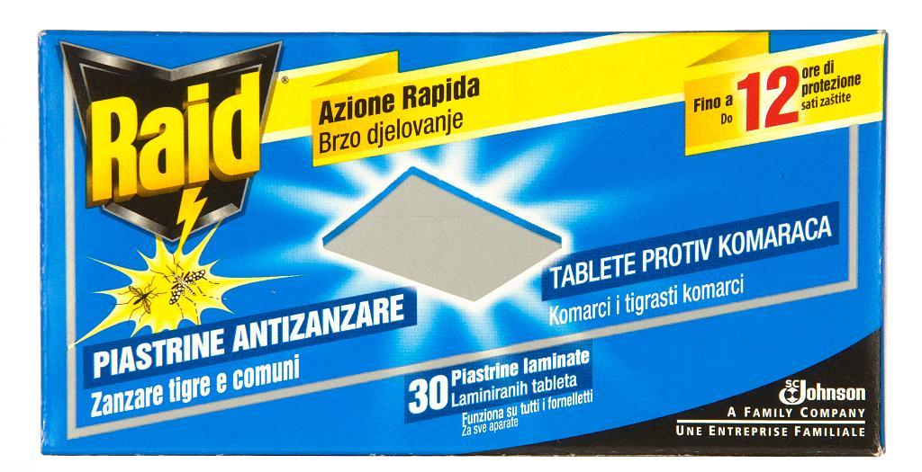 Tabletten tegen muggen