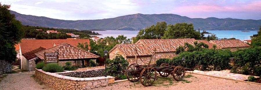 Wijnmakerij in Lumbarda, Korcula