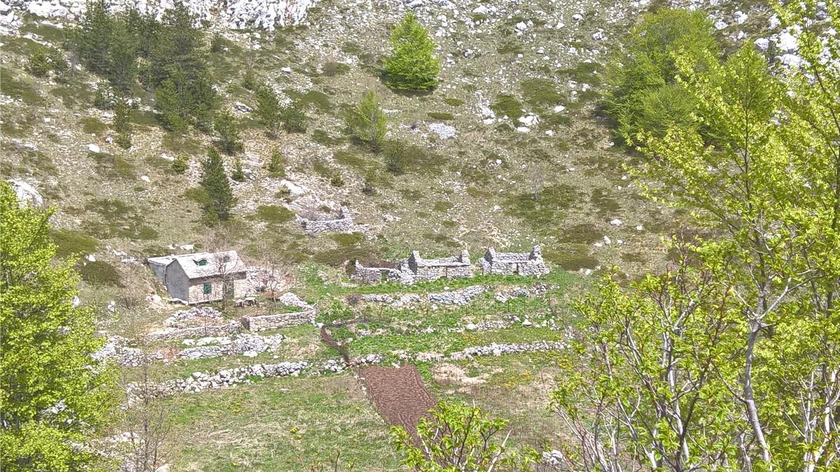 Biokovo gebergte Makarska