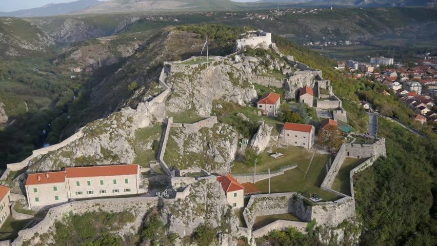 Knin fort, binnenland Dalmatie