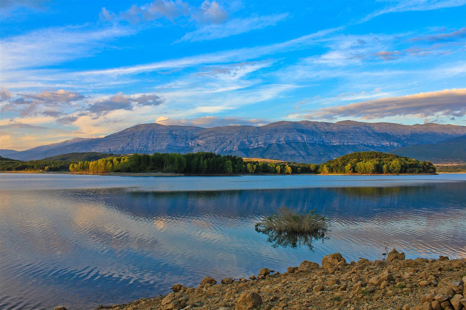 Peruca meer, binnenland Dalmatie