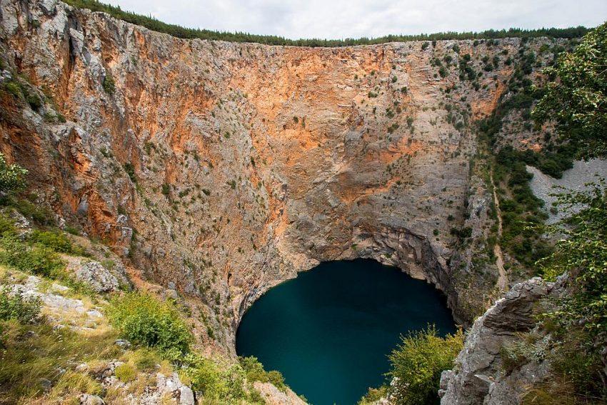 Rode meer Imotski