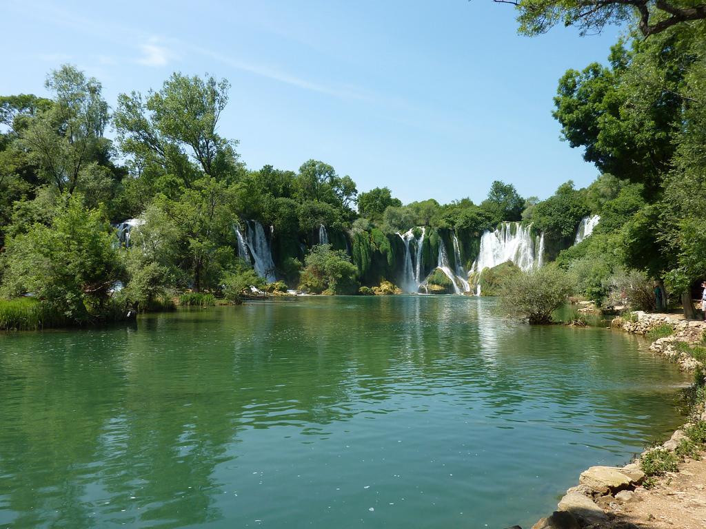 kravica watervallen bezoeken