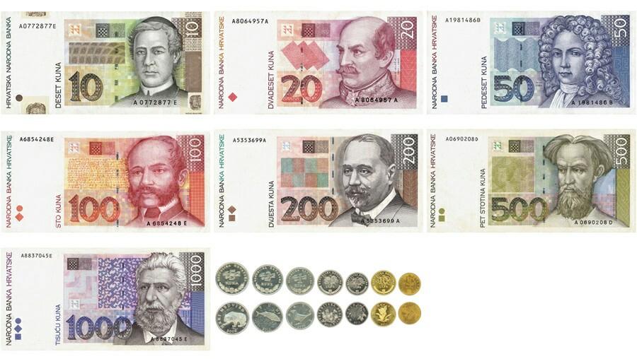 Kroatische kuna munteenheid
