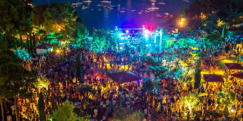 Muziekfestivals Kroatie