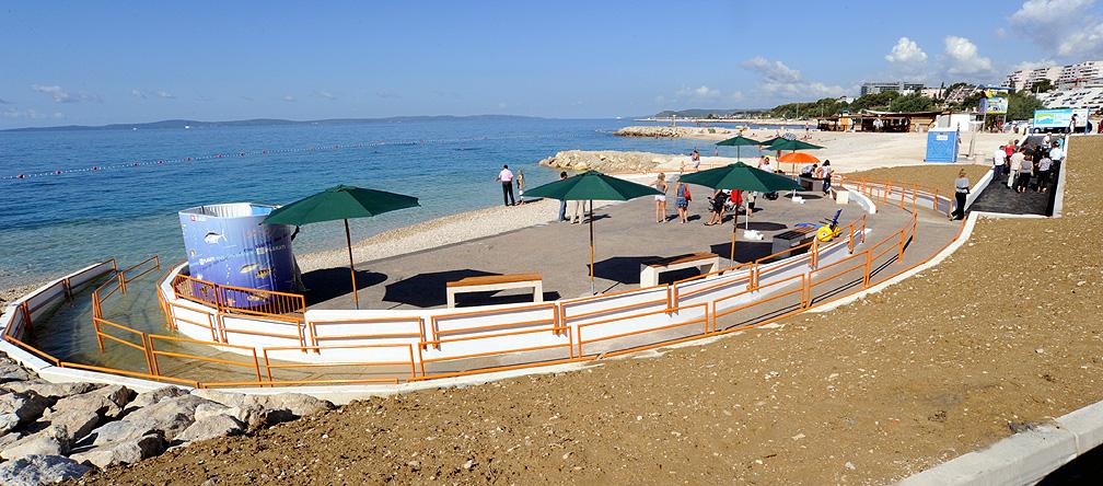 Rolstoelvriendelijke stranden Kroatie