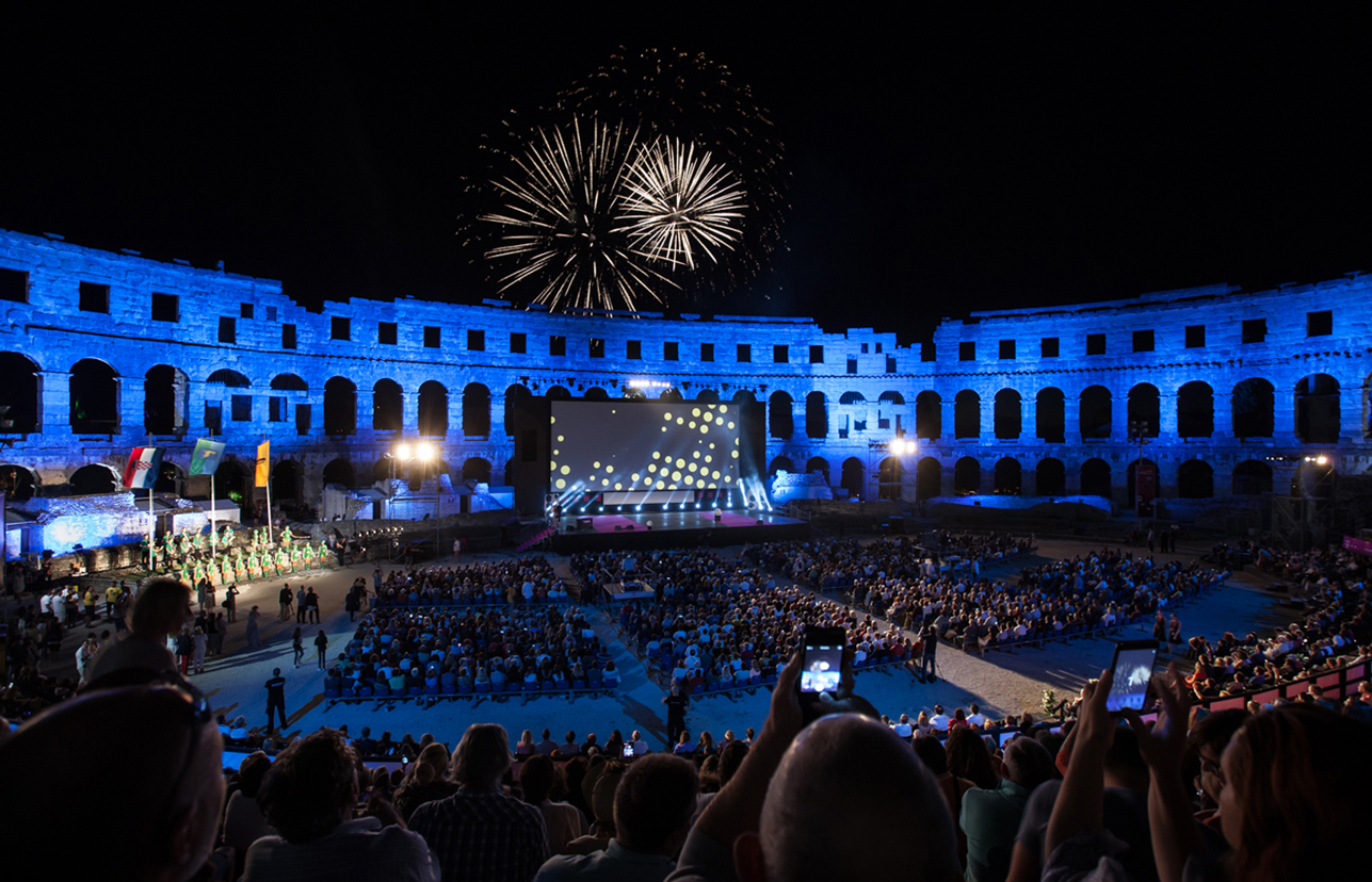 Pula Amfitheater concert