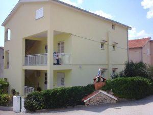 Achterkant van het huis