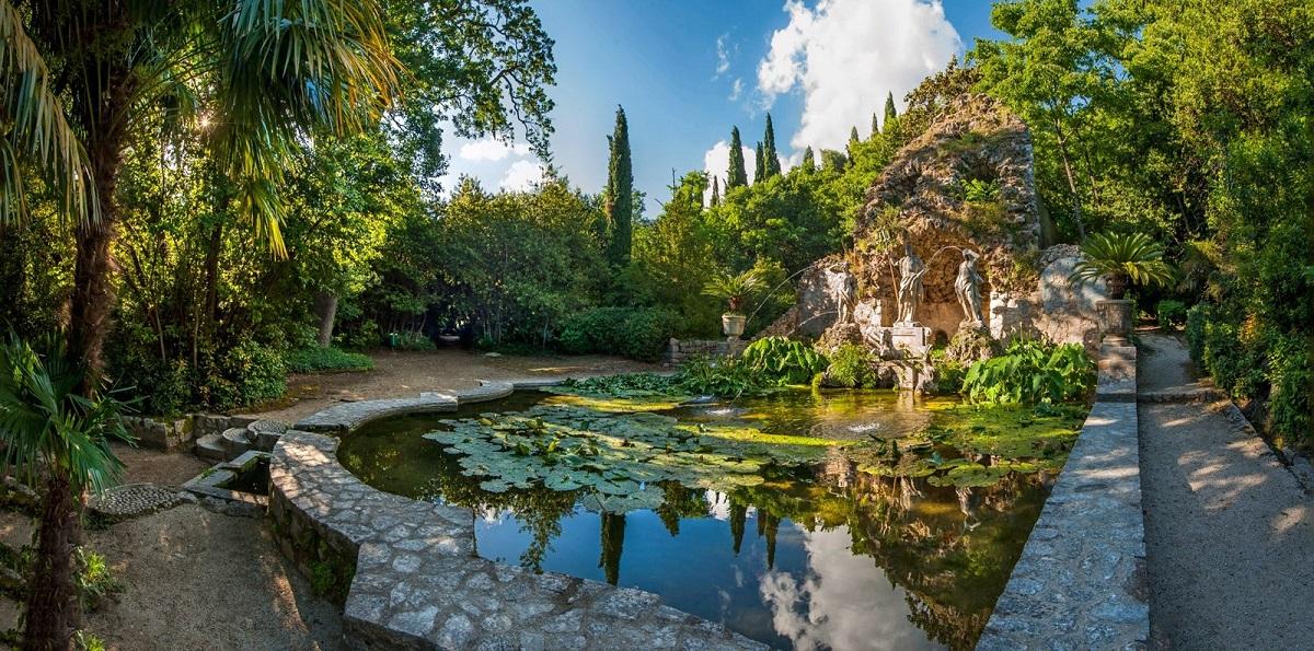 Trsteno Arboretum bezoeken