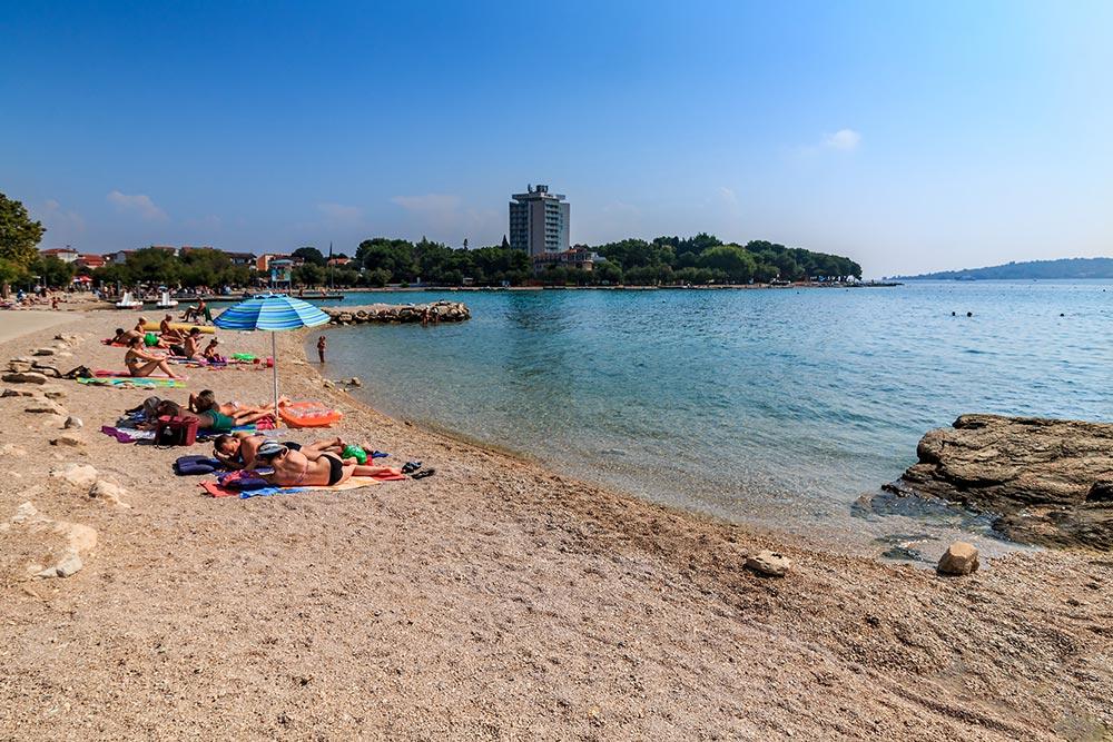 Stranden in Vodice
