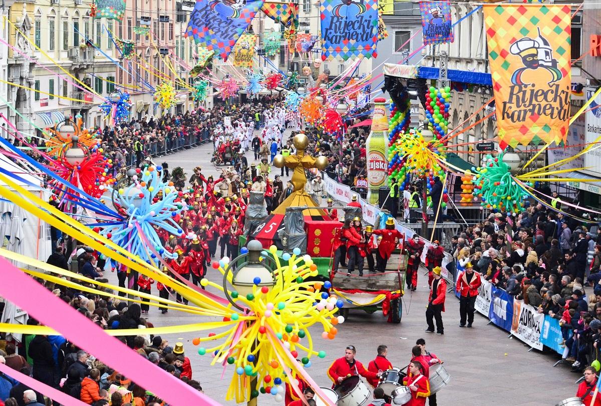 Carnaval in Rijeka Kroatie