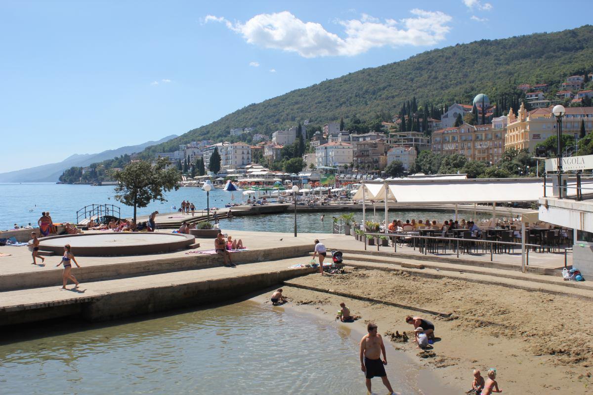 Slatina strand Opatija