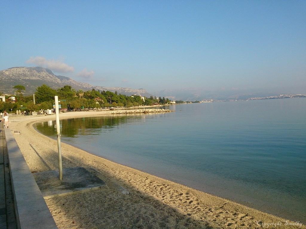 Stranden in Kastela