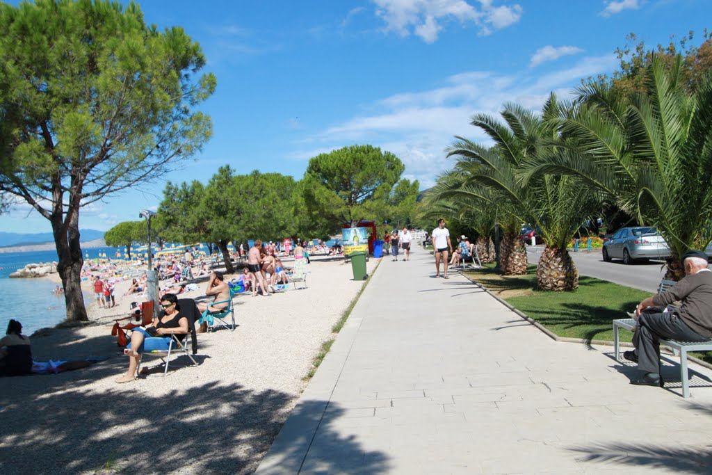 Wandelpromenade Crikvenica
