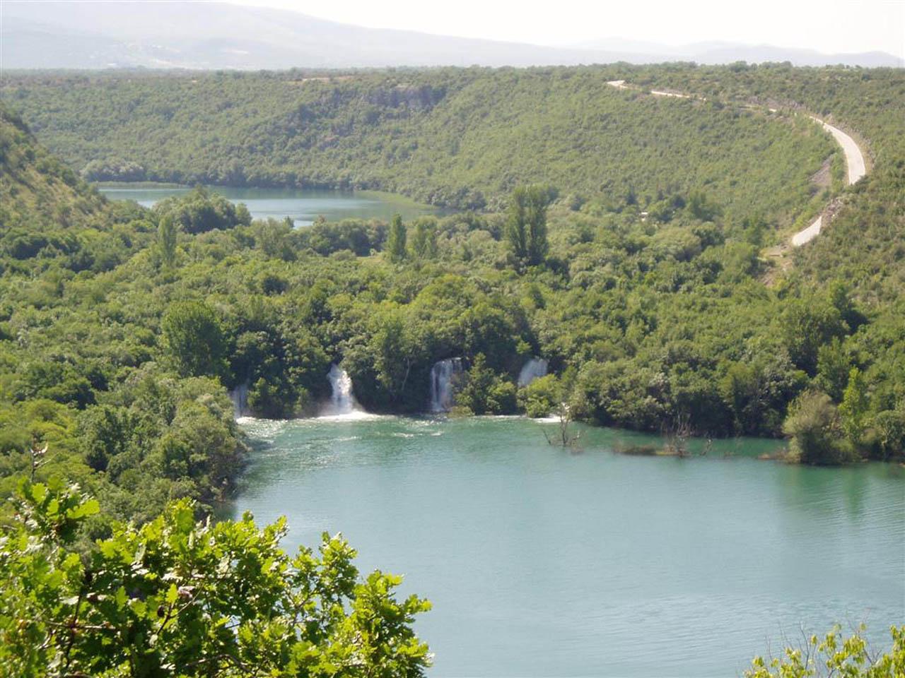Brljan waterval Krka