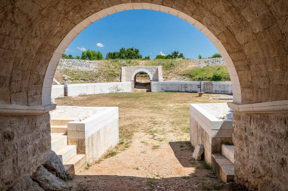 Burnum arena Krka