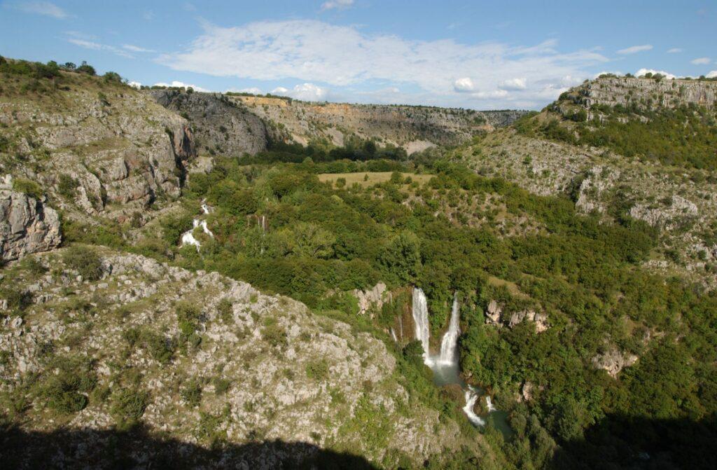 Manojlovac waterval
