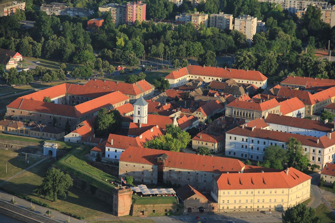 Oude centrum Osijek