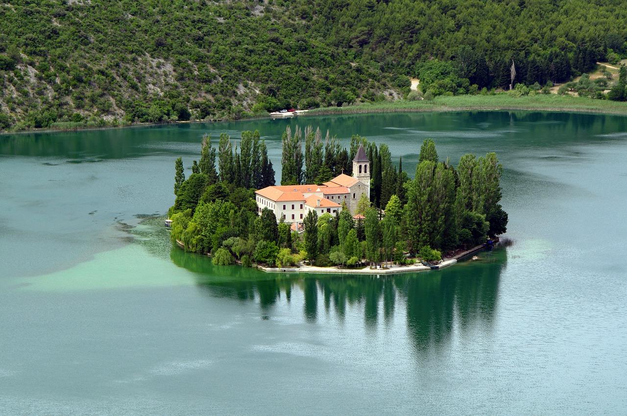 Visovac klooster NP Krka