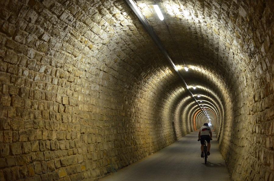 Parenzana route tunnels
