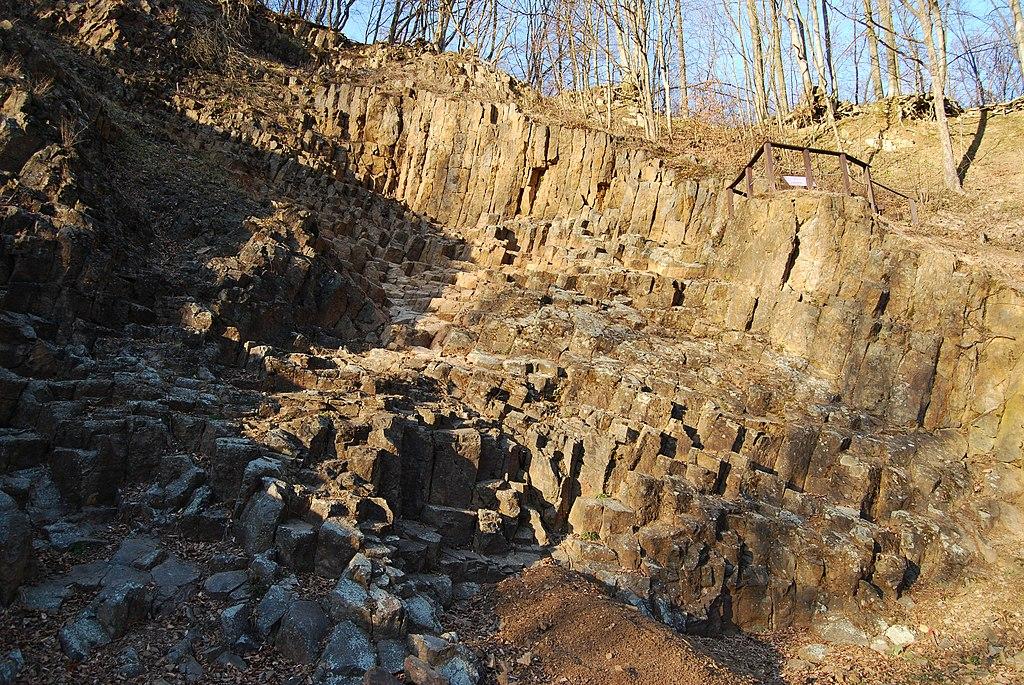 Geologisch fenomeen Rupnica